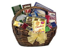 Chocolate and Crackers Gift Basket Lebanon by GiftsandFlowersLebanon